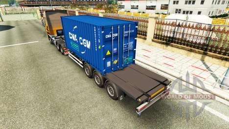 Auflieger-container-v2.0 für Euro Truck Simulator 2