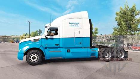 La Peau Du Camionnage À Longue Distance. Peterbi pour American Truck Simulator
