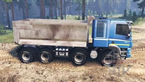 Tatra Phoenix T 158 8x8 [03.03.16] für Spin Tires