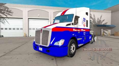 Powerhouse Transport skin für Kenworth-Zugmaschi für American Truck Simulator