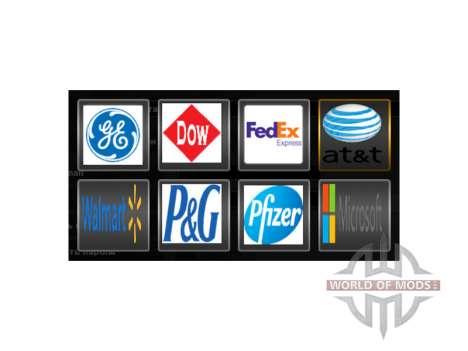 De vrais logos de la société pour American Truck Simulator