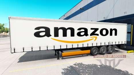 Haut Amazon auf den trailer für American Truck Simulator