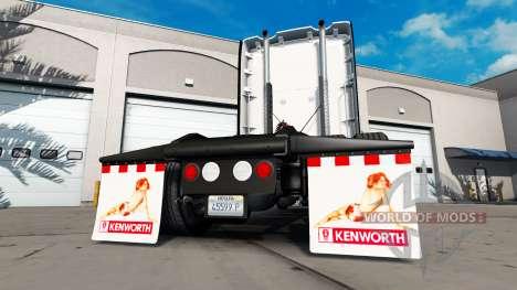 Schlamm klappen Hinten Los für American Truck Simulator