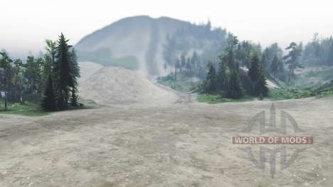 Haks Twin Peaks pour Spin Tires