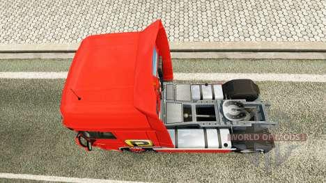Palfinger skin für DAF-LKW für Euro Truck Simulator 2