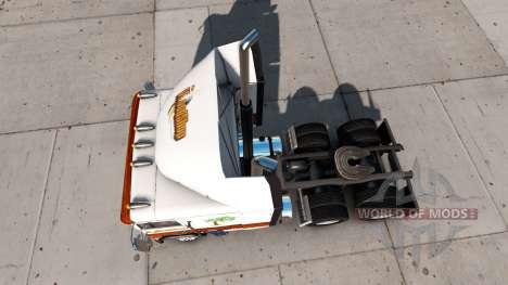 Peau en Bois de la Boutique d'un tracteur Freigh pour American Truck Simulator