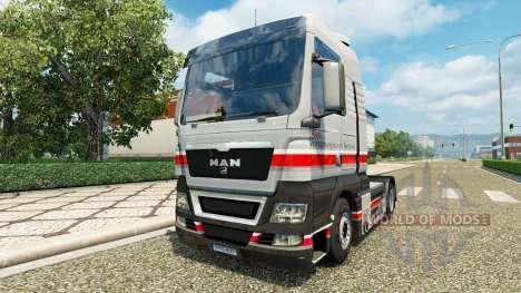 Audi skin für MAN-LKW für Euro Truck Simulator 2
