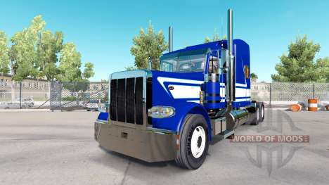 La Peau De Jack C Moss Trucking Inc. Peterbilt pour American Truck Simulator