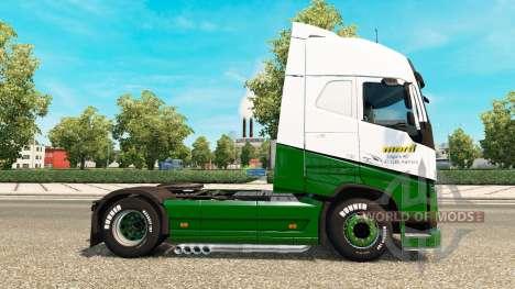 Marti de la peau pour Volvo camion pour Euro Truck Simulator 2