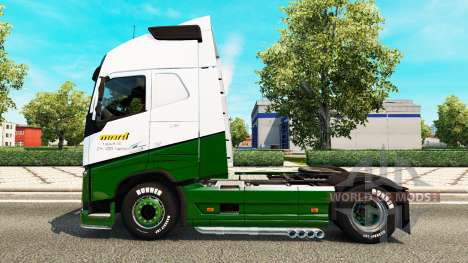 Marti Haut für Volvo-LKW für Euro Truck Simulator 2