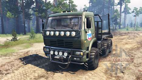 KamAZ-6522 SGS pour Spin Tires