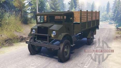 Chevrolet C60L 4x4 1942 für Spin Tires