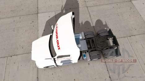 Haut Kochen, auf einem Kenworth-Zugmaschine für American Truck Simulator