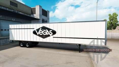 La peau de Las Vegas pour le semi-remorque pour American Truck Simulator