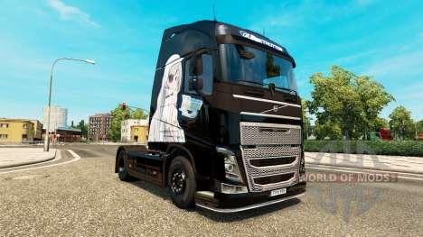 Infinite Stratos skin für Volvo-LKW für Euro Truck Simulator 2