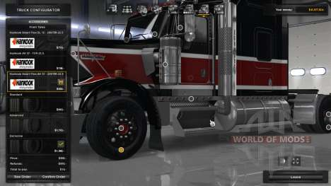 Hankook Truck Tires pour American Truck Simulator