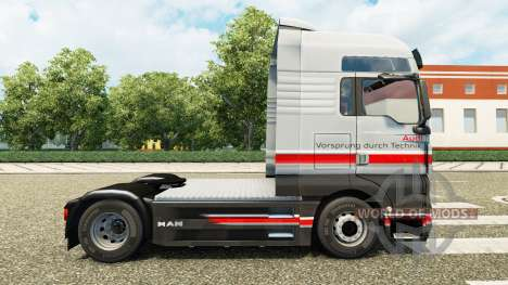 Audi peau pour l'HOMME de camion pour Euro Truck Simulator 2