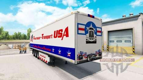 Powerhouse Transport semi-trailer-USA für American Truck Simulator