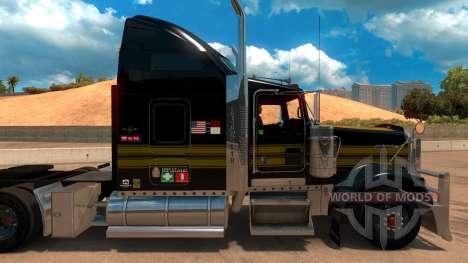 Kenworth W900 Golden Firebird Skin für American Truck Simulator