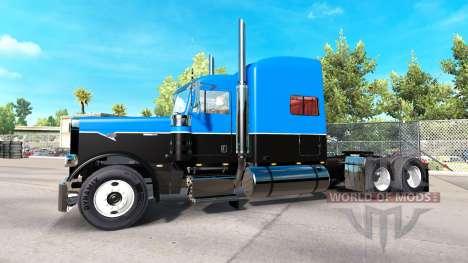 Haut Hot Road auf einem Traktor Rigs Peterbilt 3 für American Truck Simulator