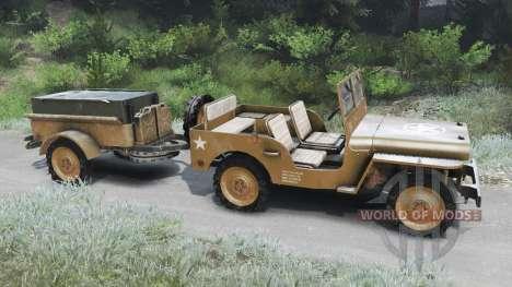 Jeep Willys 1942 [03.03.16] für Spin Tires