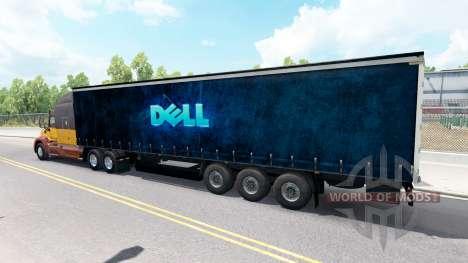 Dell Haut auf den trailer für American Truck Simulator