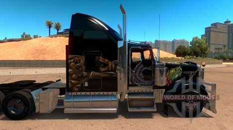 Kenworth W900 Mexico Skin v 2.0 für American Truck Simulator