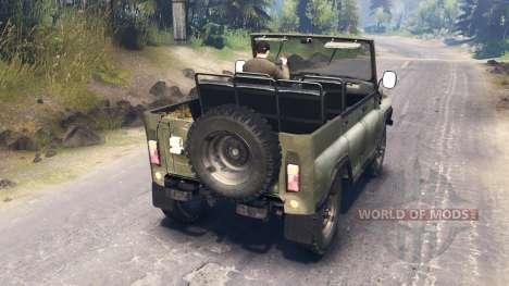UAZ-3151 für Spin Tires