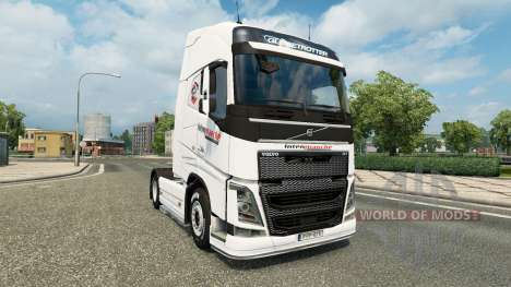 Intermarket-skin für den Volvo truck für Euro Truck Simulator 2