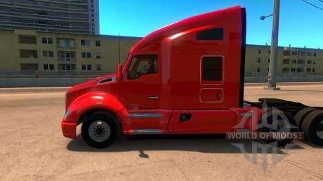 Liverpool Kenworth T680 Skin für American Truck Simulator