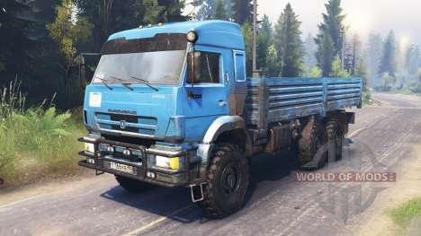 KamAZ-43118 für Spin Tires