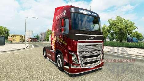 Weihnachts-skin für Volvo-LKW für Euro Truck Simulator 2