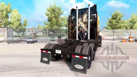 Tiger skin für Peterbilt und Kenworth trucks für American Truck Simulator