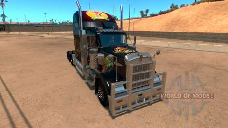 Kenworth W900 Mexico Skin v 2.0 pour American Truck Simulator