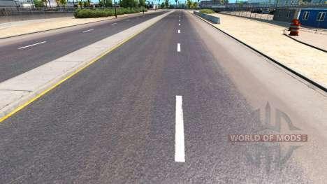 Verbesserte Fahrbahnmarkierungen für American Truck Simulator