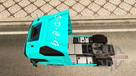 EDCG de la peau pour Volvo camion pour Euro Truck Simulator 2