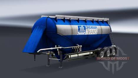 Peaux de sociétés réelles pour les semi-remorque pour Euro Truck Simulator 2