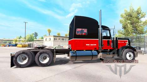 La Peau Bert Question Inc. pour le camion Peterb pour American Truck Simulator