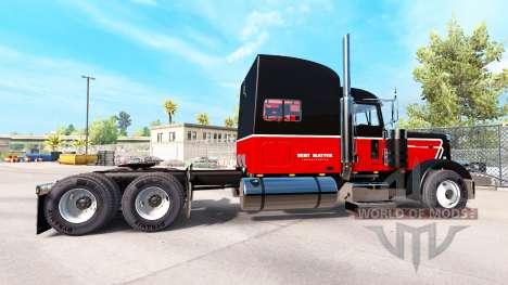 La Peau Bert Question Inc. pour le camion Peterb pour American Truck Simulator