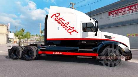 De la peau pour Peterbilt camion Peterbilt pour American Truck Simulator