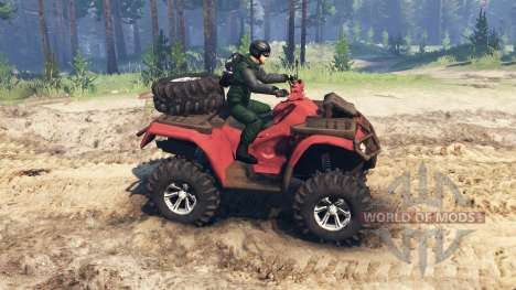 Polaris Sportsman 4x4 v3.0 für Spin Tires
