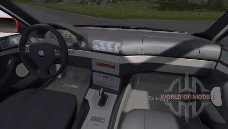 BMW 525i Drift pour BeamNG Drive