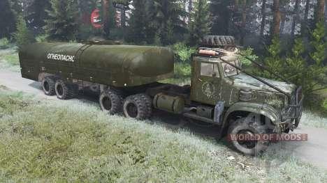 Le KrAZ-214 [03.03.16] pour Spin Tires