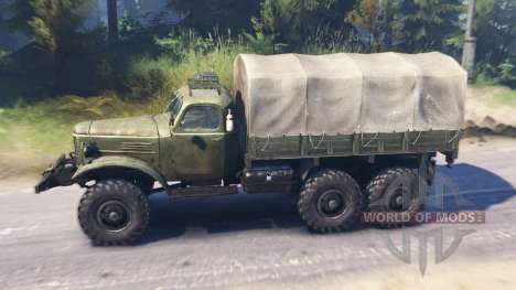 ZIL-157КД v11.04.16 pour Spin Tires