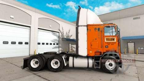 Peau Jaune Frayeur Système sur le tracteur Freig pour American Truck Simulator