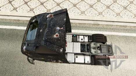 La peau de Battlefield 4 v2.0 pour Volvo camion pour Euro Truck Simulator 2