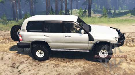 Toyota Land Cruiser 105 [03.03.16] pour Spin Tires