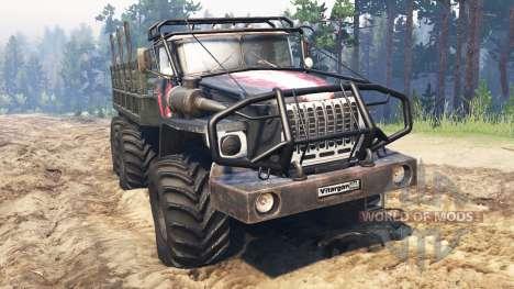 Ural-4320-10 v2.3 für Spin Tires