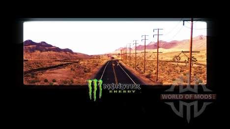 Monster Energy in die loading screens für American Truck Simulator