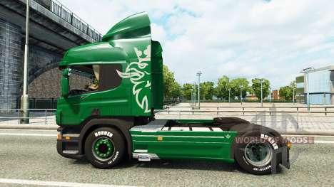 Scania P340 pour Euro Truck Simulator 2